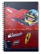 Ferdinand Alonso Spiral Notebook