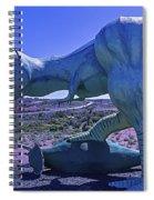 Ferious Dinosaur Trex Spiral Notebook