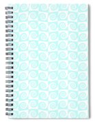 Fermat Spiral Pattern Effect Pattern. Spiral Notebook