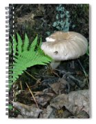 Fern And Mushroom Spiral Notebook