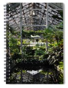 Fern Room Symmetry  Spiral Notebook