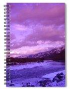Fernie British Columbia  Spiral Notebook