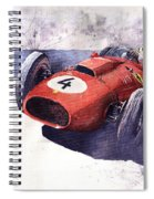 Ferrari 246 Mike Hawthorn Spiral Notebook