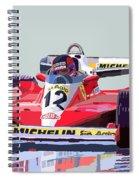 Ferrari 312 T3 1978 Canadian Gp Spiral Notebook