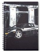 Ferrari 348 Gtr Testarrossa Spiral Notebook