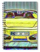 Ferrari 5 Spiral Notebook