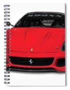 Ferrari 599xx Spiral Notebook
