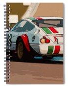 Ferrari Daytona - Italian Flag Livery Spiral Notebook