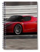Ferrari Enzo - Rosso Corsa Spiral Notebook