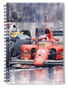 1991 Ferrari F1 Jean Alesi Phoenix Us Gp Arizona 1991 Spiral Notebook
