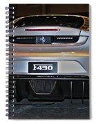 Ferrari F430 No 1 Spiral Notebook