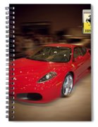 Ferrari F430 - The Red Beast Spiral Notebook