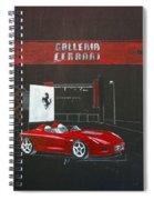 Ferrari Pininfarina Rossa Concept Spiral Notebook