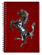 Ferrari Stallion Spiral Notebook