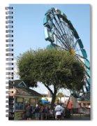 Ferris Upside Down Spiral Notebook