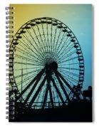 Ferris Wheel - Wildwood New Jersey Spiral Notebook