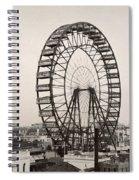 Ferris Wheel, 1893 Spiral Notebook