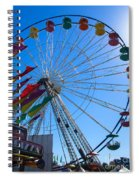 Ferris Wheel 6 Spiral Notebook