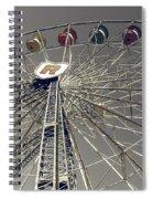 Ferris Wheel 5 Spiral Notebook