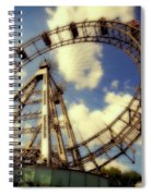 Ferris Wheel At The Prater Spiral Notebook