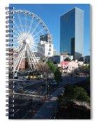 Ferris Wheel Atl Spiral Notebook