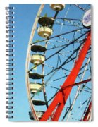Ferris Wheel Closeup Spiral Notebook