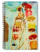 Ferris Wheel Fun Spiral Notebook