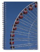 Ferris Wheel II Spiral Notebook
