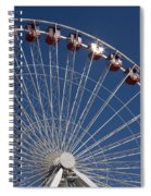 Ferris Wheel IIi Spiral Notebook