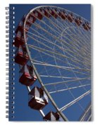 Ferris Wheel Iv Spiral Notebook