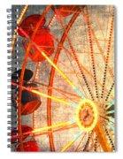 Ferris Wheel Jazz Spiral Notebook