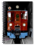 Ferrocarrril De Soller Spiral Notebook