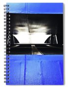 Ferry Abstract Spiral Notebook