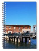 Ferry Building And Pinnacle Building - San Francisco Embarcadero Spiral Notebook