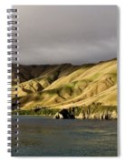 Ferry View Picton New Zealand Spiral Notebook