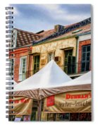 Festival New Orleans Seafood - French Quarter Spiral Notebook
