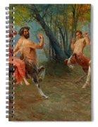 Festival Of Centaurs Spiral Notebook