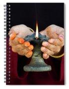 Festival Of Light Spiral Notebook