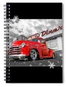 Festive Chevy Truck Spiral Notebook