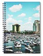 Festive Tampa Bay Spiral Notebook