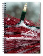 Festive With The Snow Spiral Notebook