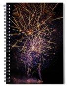 Feu De La St Pierre Spiral Notebook