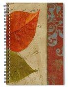 Feuilles II Spiral Notebook