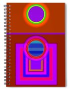 Fever Pitch Spiral Notebook