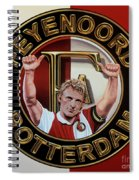 Feyenoord Rotterdam Painting Spiral Notebook
