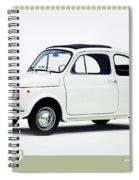 Fiat 500 Spiral Notebook