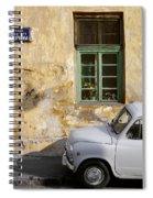 Fiat 600. Belgrade. Serbia Spiral Notebook