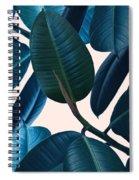 Ficus Elastica 2 Spiral Notebook