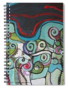 Fiddleheads 5 Spiral Notebook