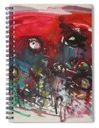 Fiddlesheads108  Spiral Notebook